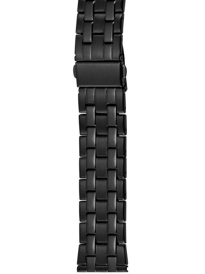 Verschlussbänder Edelstahl / PVD-schwarz