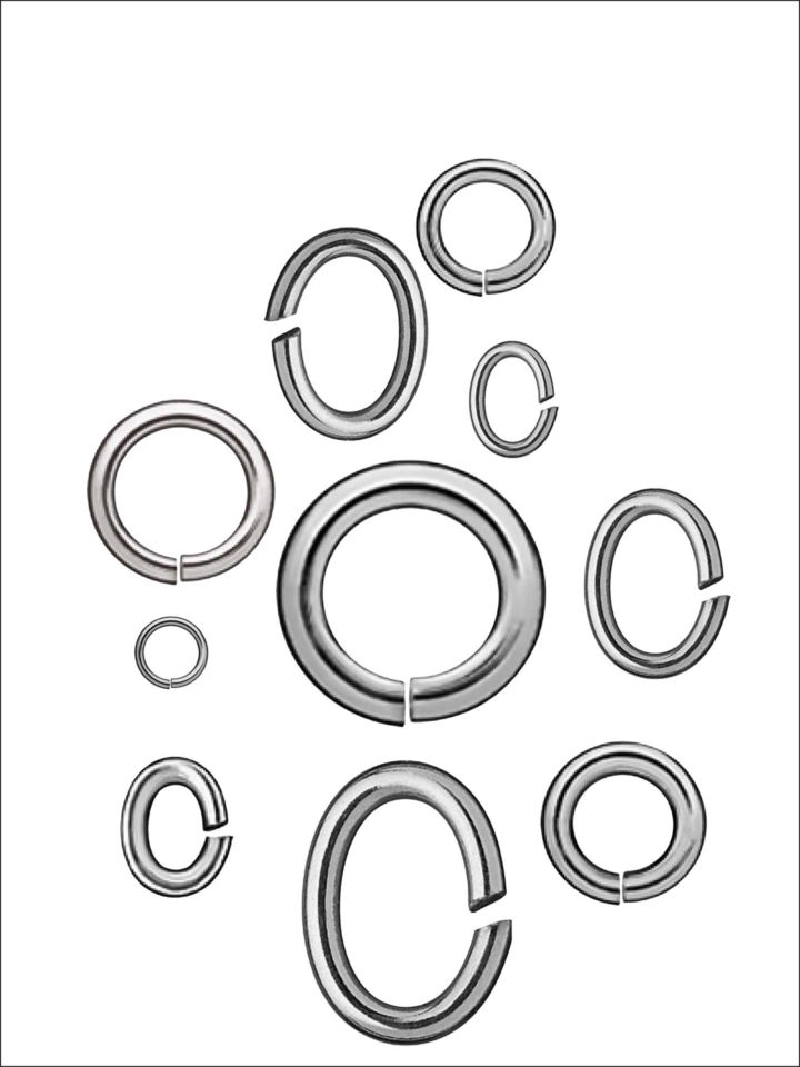 BINDERINGE Silber 925/-