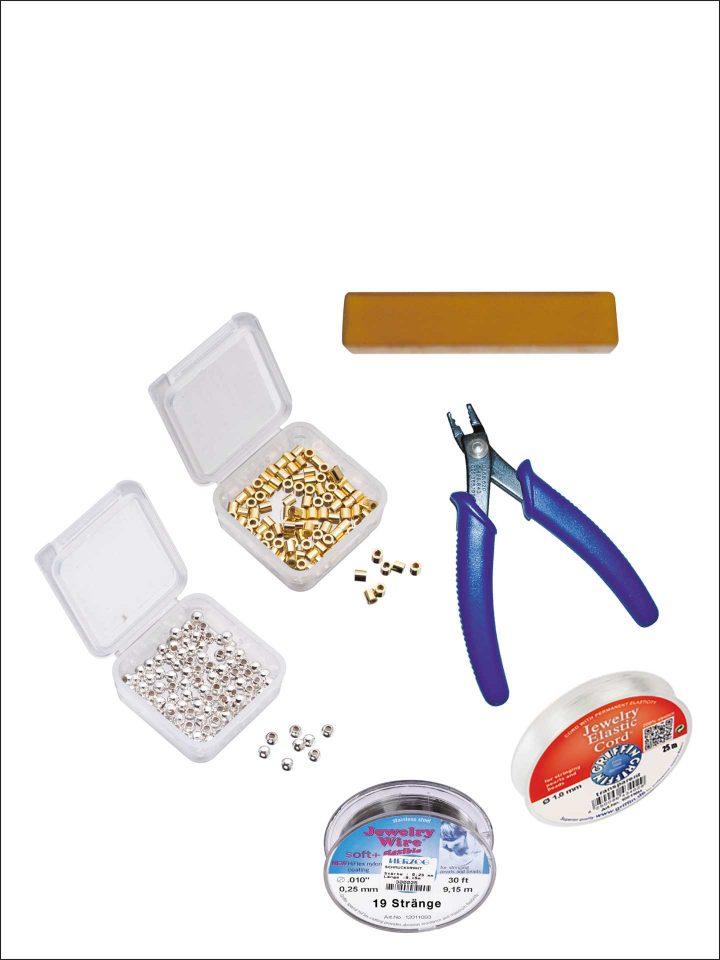 Perlseide & Zubehör