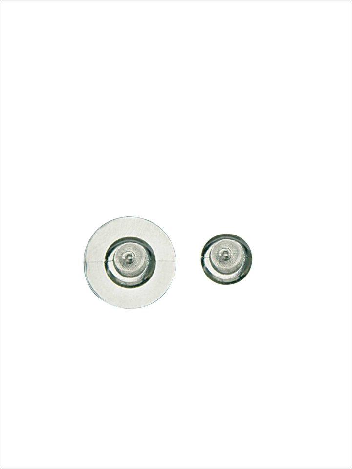 Ohrmuttern Antiallergie (Kunststoff)
