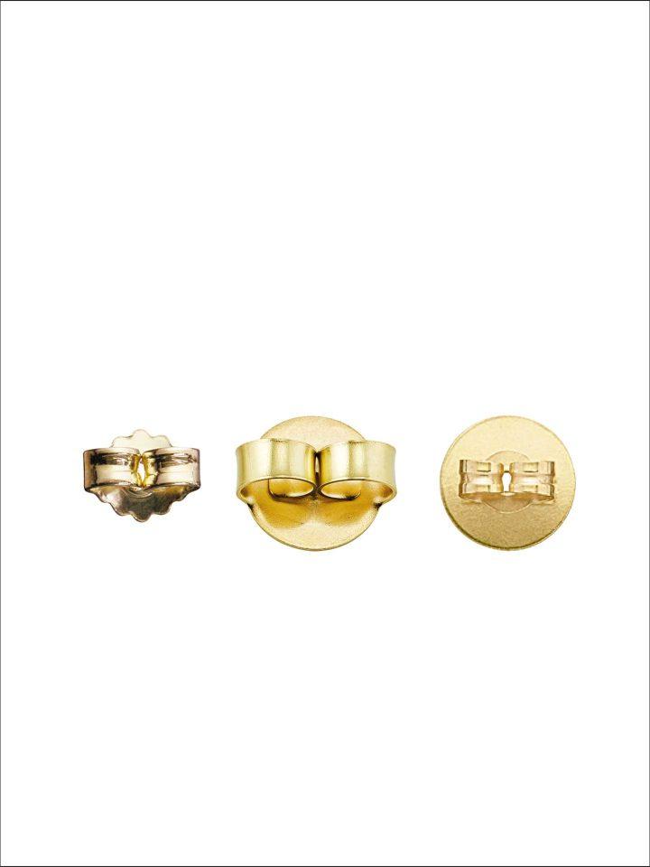 Ohrmuttern Silber 925/- vergoldet
