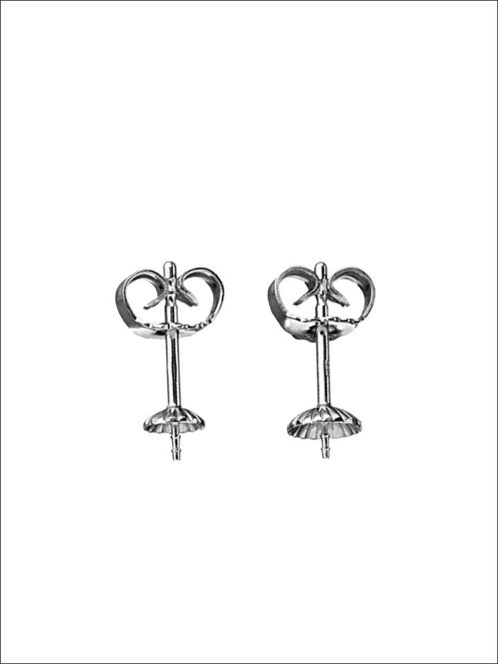 Ohrstecker mit Perlschale Silber 925/-
